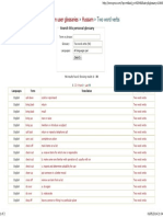 Two Word Verbs _ ProZ.com Glossaries