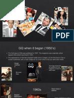how gq magazine has evolved