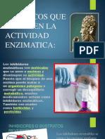 FARMACOS QUE DETIENEN LA ACTIVIDAD ENZIMATICA (1).pptx