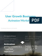 Growth Hacking Activation Workshop