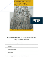 Canadian Health Policy in the News 2012