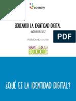 Educando la identidad digital