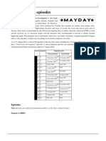 List of Mayday episodes.pdf
