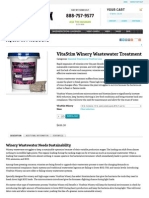 vitastim winery wastewater treatment supplement