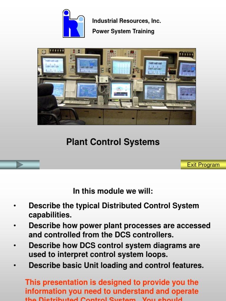 MOD-01 Plant Control System | Control System | Signal (Electrical ...