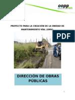 UNIDAD DE MANTENIMIENTO VIAL.doc