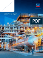 Chevron 2012 Annual Report