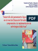 """""""Desarrollo del pensamiento lógico-matemático EN LA EDUCACIÓN PARVULARIA.pdf"""