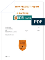 Exploratory Report on e Banking