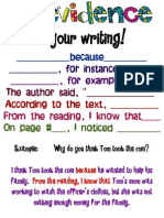 evidenceinwritingposter 2