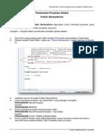 (123623499) Modul 5 - Membuat Prosedur Global