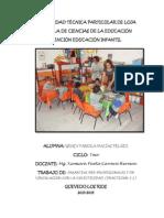 Practicum 3 Escuela Bolivar