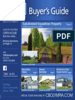 Coldwell Banker Olympia Real Estate Buyers Guide October 25th 2014