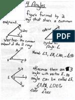 1-4 Angles, Classifying Angles