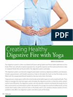 Creating Healthy Digestive Fire with Yoga
