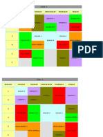 Student TimeTable 2014