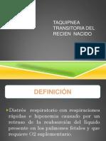 TAQUIPNEA TRANSITORIA DEL  RECIEN  NACIDO .pptx