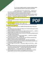 Macro Economics Study Guide