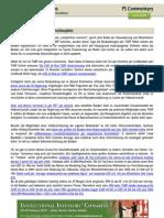 PS Commentary 15.12.2009 - Der ´Wir wollen Boni´ Nebenschauplatz