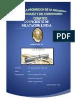 Coeficiente de Dilatacion Lineal Completo