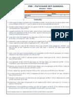 Lista de Execício de Matemática Financeira - II - Juros Simples.doc