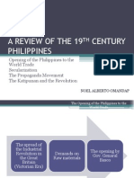 A Review of the 19th Century Philippines