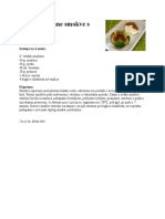 Karamelizirane Smokve s Pistaciom