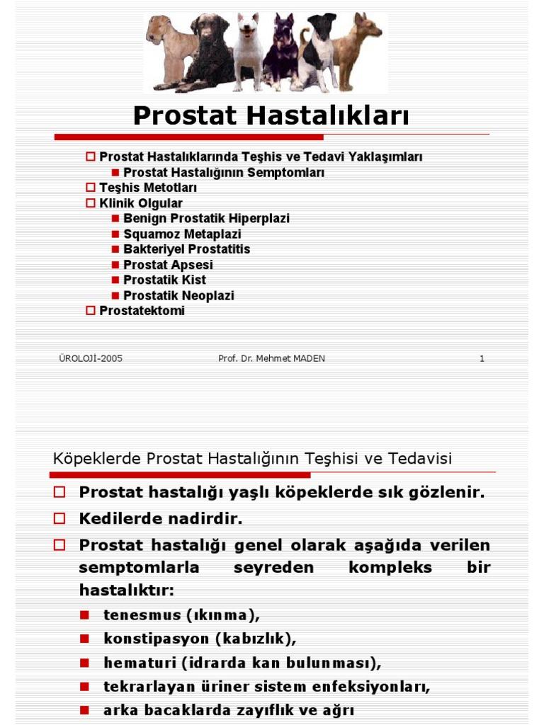 Prostatın iltihaplanması, semptomlar, tedavi ve önleme