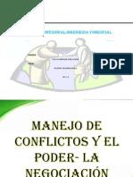 MANEJO DE CONFLICTOS PODER Y NEGOCIACIÓN-UDL-2013.ppt