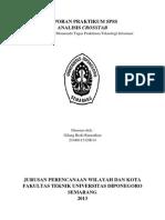 PLANOLOGI UNDIP SM1-Laporan Praktikum Spss Crosstabs