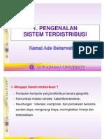 01 Pengenalan Sistem Terdistribusi