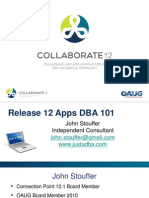 Stouffer-Release-12-Apps-DBA-101-03-04-12-V3-BJM-PPT