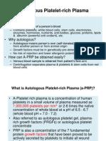 Autologous Cellular Rejuvenation (ACR)