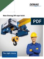 New Demag DR rope hoist