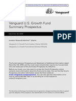 Vanguard Fund Prospectus