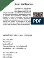 Profilaxis Odontologica y farmacos en Odo..pptx