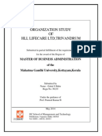 Os report done at HLL Lifecare Ltd