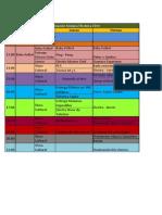 Programación Semana Eléctrica 2014