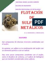 CONC. II - 8 FLOTACION DE SULFUROS METÁLICOS.pptx