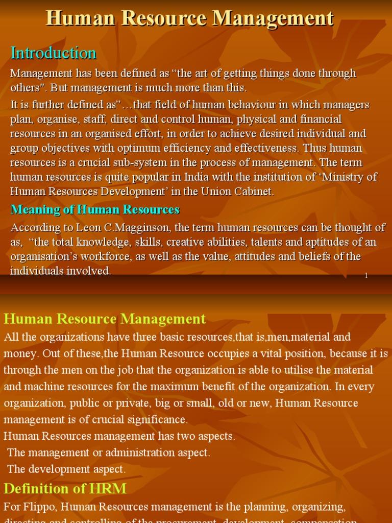 Human resource management bba 2nd sem human resource management human resource management bba 2nd sem human resource management employment fandeluxe Choice Image