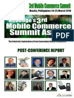 3rd Mobile Post Conference Report