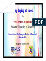 Spray Drying of Foods