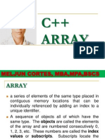 MELJUN CORTES C++_Array