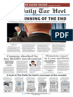 The Daily Tar Heel for Oct. 23, 2014