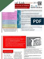 October 2014 Newsletter