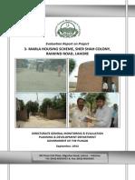 Project Id142 Eval Reprt 3 Marla Housing Scheme Shershah Colony Lhr
