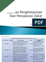 Laporan UPZ Bulan Agustus 2014