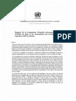 Le rapport d'enquête de l'Onu sur les crimes commis en Guinée