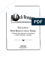 Waste Reduction Manual