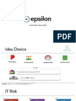 Reduce IT Risk using Epsilon